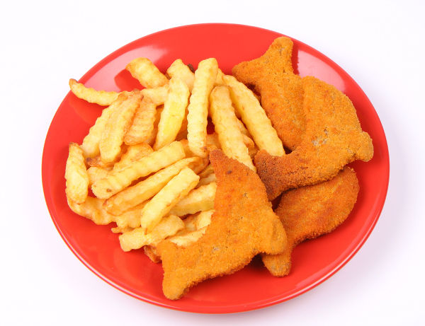 junk-food-in-red-plate