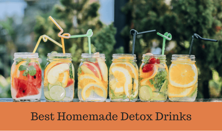 best homemade detox drinks