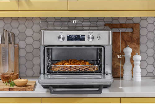 toaster oven size